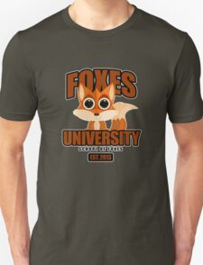 Foxes University  2 T-Shirt