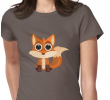 Fox (2) Womens Fitted T-Shirt