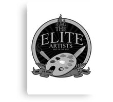 The Elite Artist (2) Canvas Print