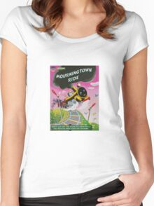 All aboard the TISM Express Women's Fitted Scoop T-Shirt