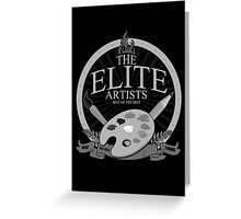 The Elite Artists Greeting Card