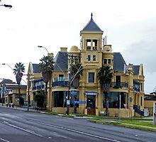 Mentone Hotel, Melbourne, Australia by Margaret  Hyde