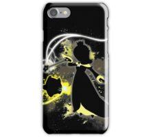 Super Smash Bros. Black/Yellow Rosalina Silhouette iPhone Case/Skin