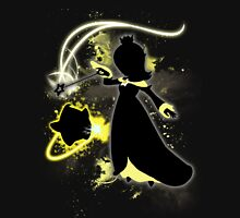 Super Smash Bros. Black/Yellow Rosalina Silhouette Unisex T-Shirt