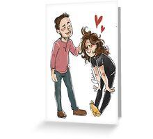 Pat Pat Ruffle and Dance Greeting Card