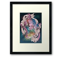 POKEMON - Past-Present Framed Print