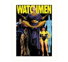 Watchmen  Art Print