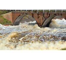 Dam  overflow Photographic Print