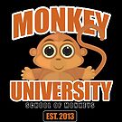 Monkey University (2) by Adamzworld