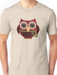 The Red Owl Unisex T-Shirt