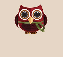 The Red Owl Womens Fitted T-Shirt