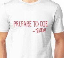 Telecom Prepare To Die Text T-Shirt