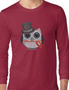 Top Hat Owl Long Sleeve T-Shirt