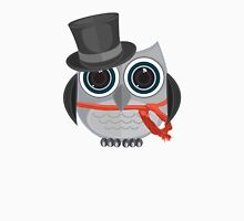 Top Hat Owl Unisex T-Shirt