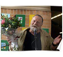 Jack Thompson an avid Gardener Poster