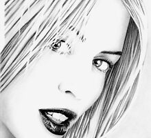 Kylie Minogue Portrait no.2 by wu-wei