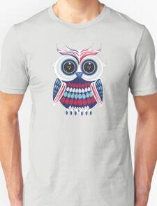Patriotic Owl Unisex T-Shirt