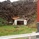 House under Lava, Iceland by Margaret  Hyde