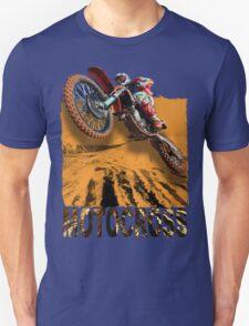 Motocross In Action 3D Art Design T-Shirt