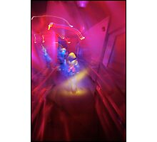 journey to space mountain Photographic Print