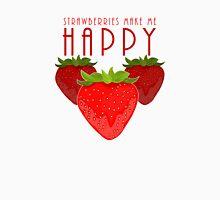 Strawberries Make Me Happy T-Shirt