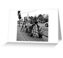 St. Kilda streetscape Greeting Card