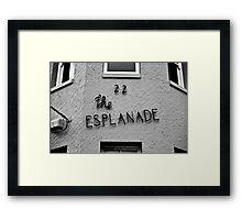 House on... Framed Print