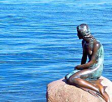 Little Mermaid, Copenhagen by erdu