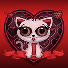 Valentine Kitten by Adamzworld