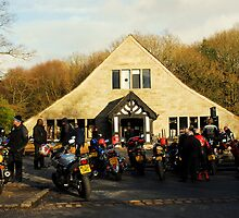 RIVVI BARN bikers meet[for caz] by snapitnc