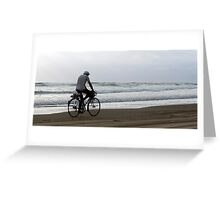 Baylys Beach bikey Greeting Card