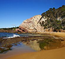 Aslings Beach at Eden by Darren Stones