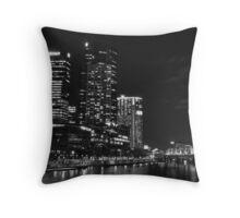 Southbank at Night Throw Pillow