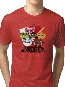 Nerd 3 Tri-blend T-Shirt