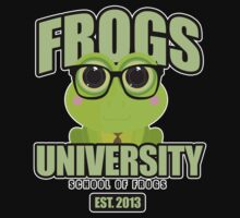 Frogs University 2 One Piece - Long Sleeve