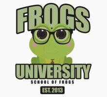 Frogs University One Piece - Short Sleeve