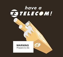 Telecom Cigarettes Will Kill You Alternative Unisex T-Shirt
