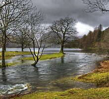 Buttermere Dubs in January by VoluntaryRanger