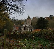The Church of St Mary the Virgin - Speenhamland, Berkshire by MigBardsley