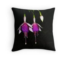 Pas de deux Throw Pillow