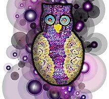 Owl Applique by Bethany Olechnowicz