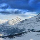 HDR Panoramic - Mannlichen, Switzerland by Luke Griffin