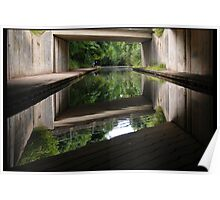 Bridge on the Canal - Stourport Ring Poster