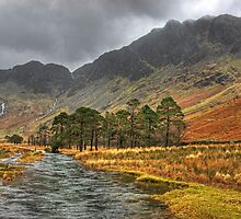 Warnscale Beck & Haystacks by VoluntaryRanger