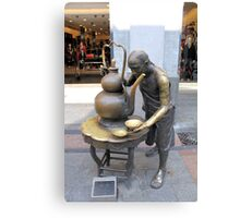 Street Sculpture  Canvas Print
