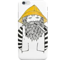 Fisherman iPhone Case/Skin