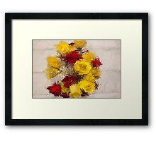 Roses for Becky Framed Print