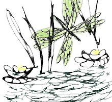Life at the Pond by Sandra Chung