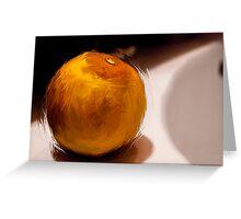 Orange1 Greeting Card