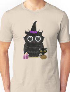 Black Owl Witch Unisex T-Shirt